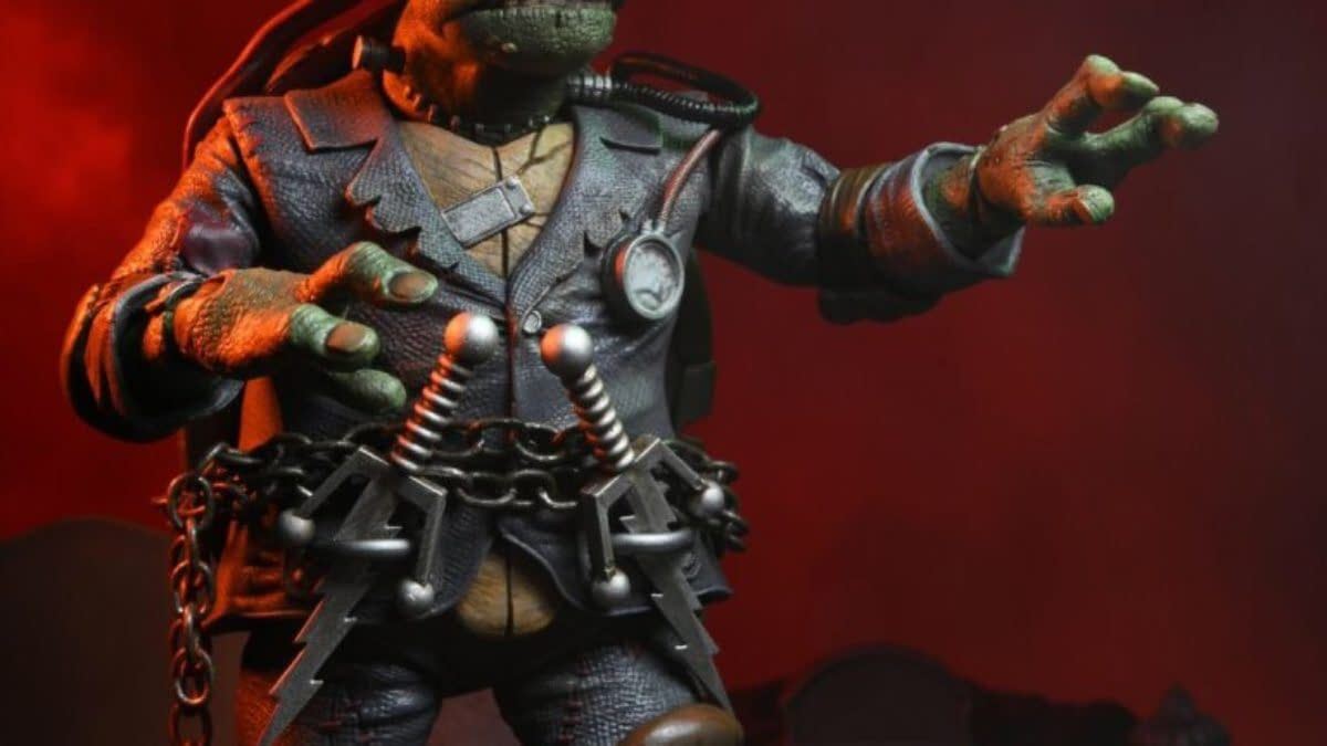 TMNT X Universal Monsters Line From NECA Debuts, Preorders Live