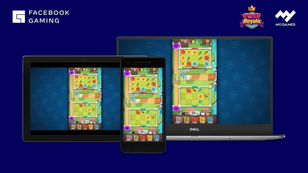 MY.GAMES Will Bring Mobile Cloud Games To Facebook  Gaming