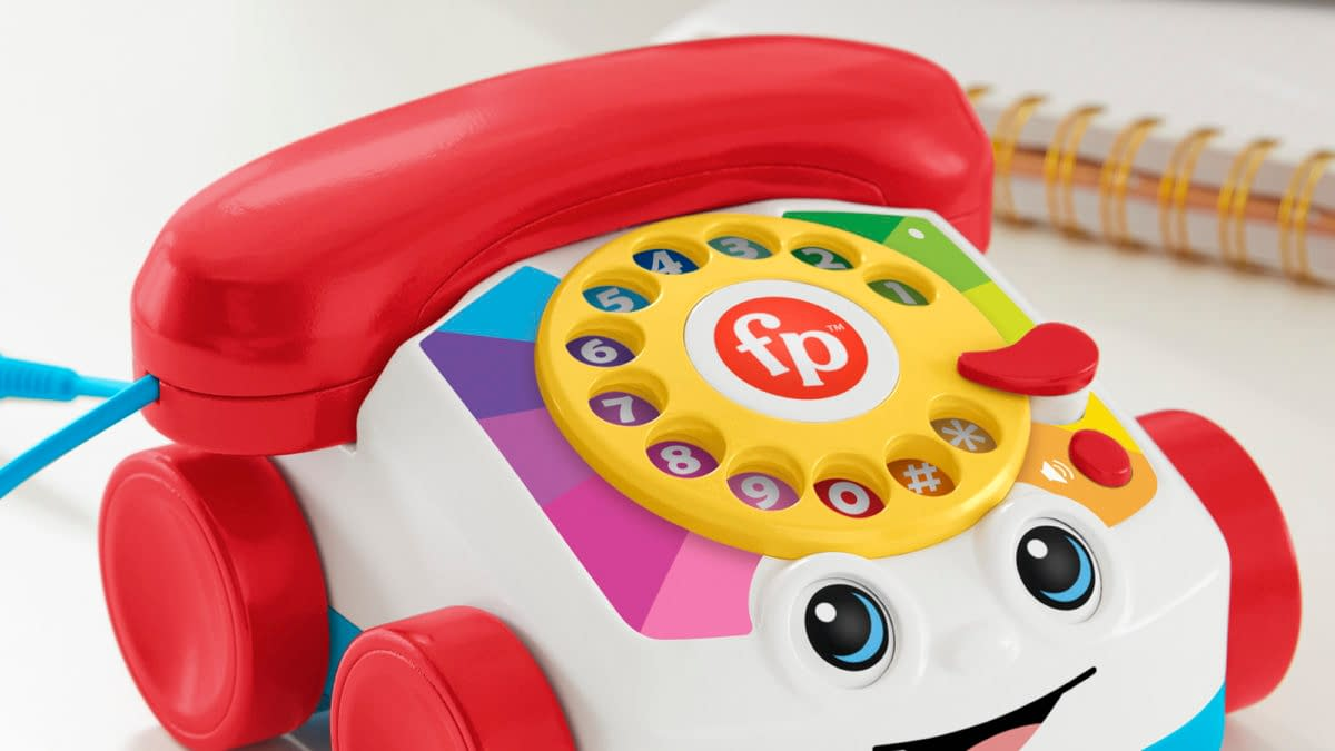 Fisher-Price Reveals Real Working Bluetooth Chatter Telephone