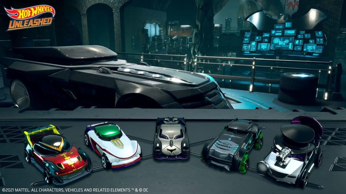 Hot Wheels Unleashed Reveals New Batman Expansion