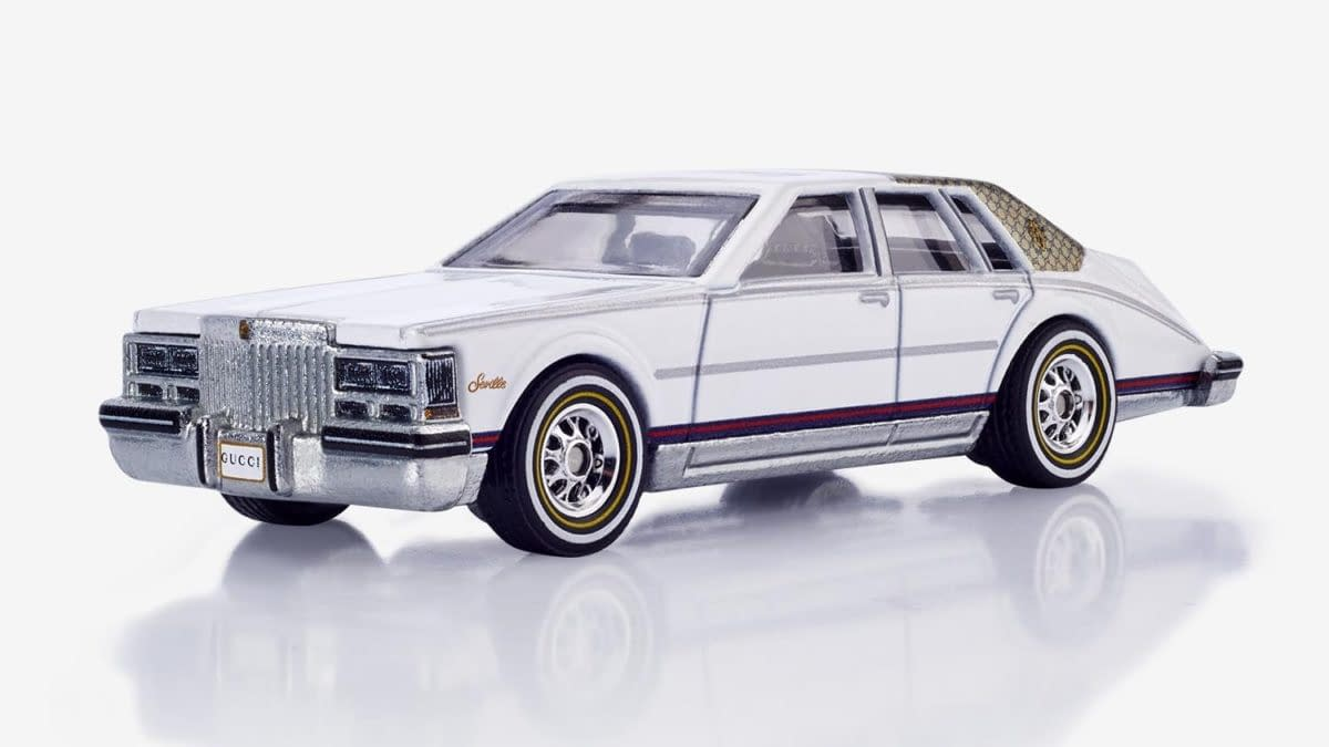 Hot Wheels Unleashed Reveals Gucci Cadillac Seville Collaboration