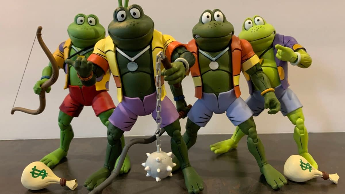 NECA's TMNT Animated Line Continues With Chromedome, New Frogs