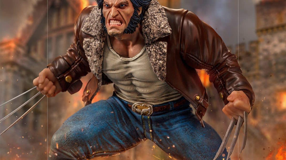 Logan Joins the Iron Studios X-Men vs Sentinel Statue Diorama Series