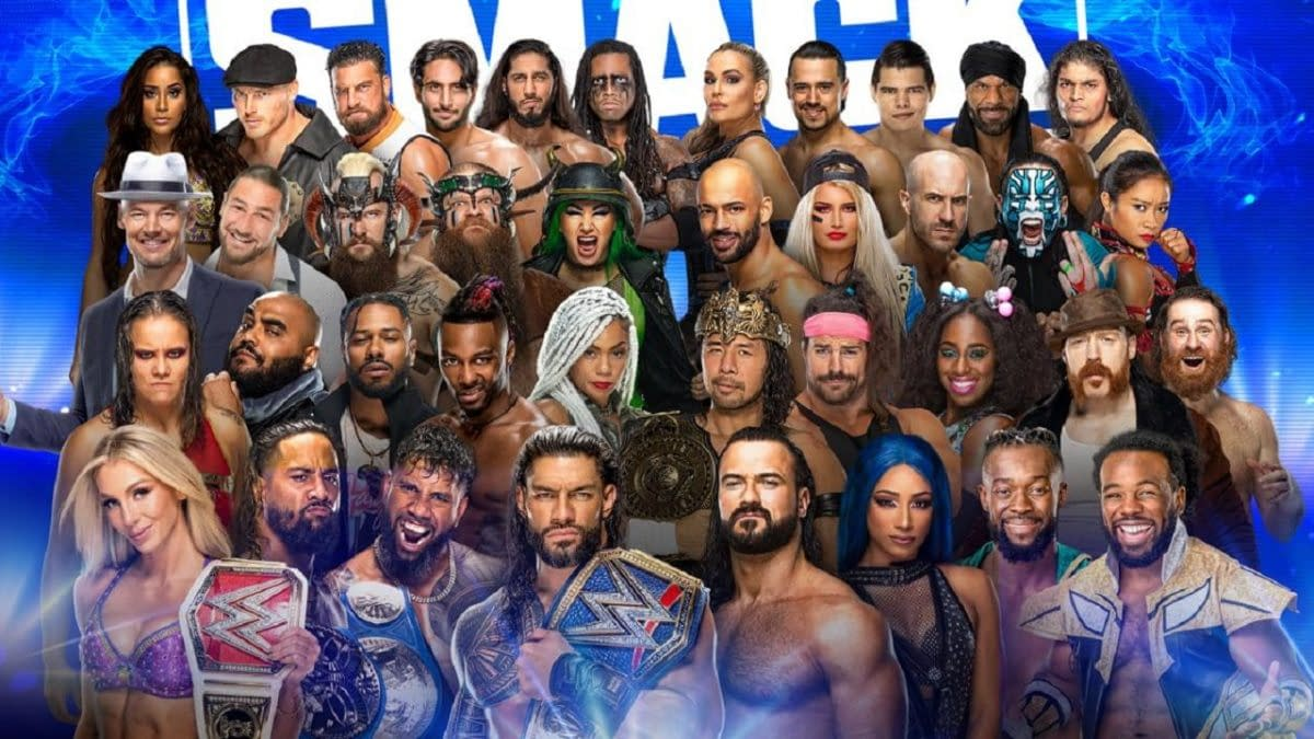 SmackDown Recap: I Guess The New Era Doesn't Have Much Action
