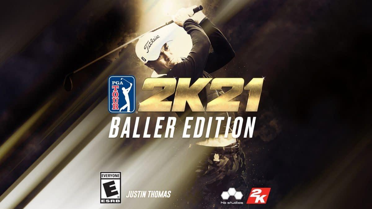 2K Games Releases PGA Tour 2K21 Baller Edition