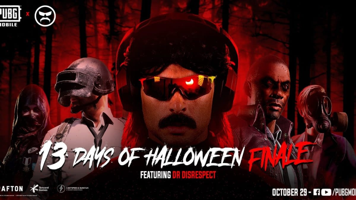 """Dr Disrespect Joins PUBG Mobile's """"13 Days of Halloween"""""""
