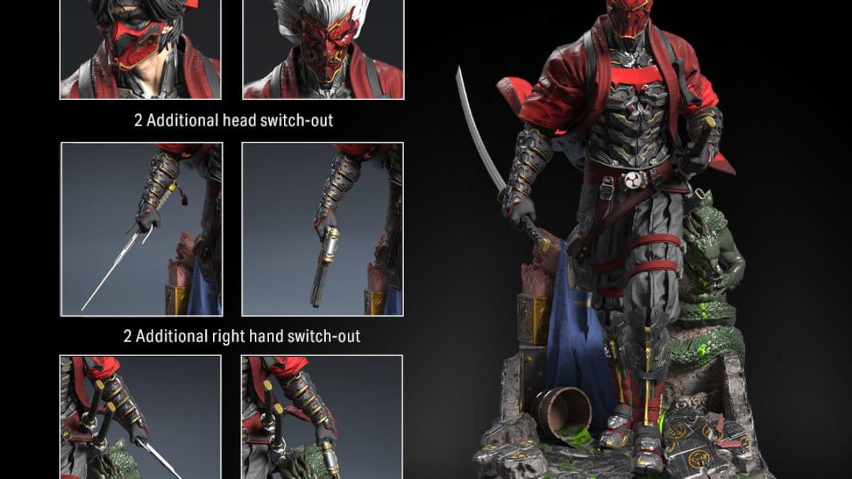 Red Hood Joins XM Studios Batman Samurai Statue Line for DC Fandome