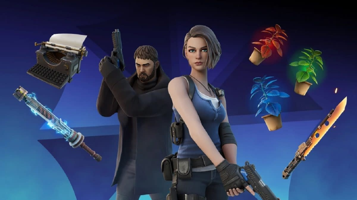 Chris Redfield & Jill Valentine Officially Come To Fortnite
