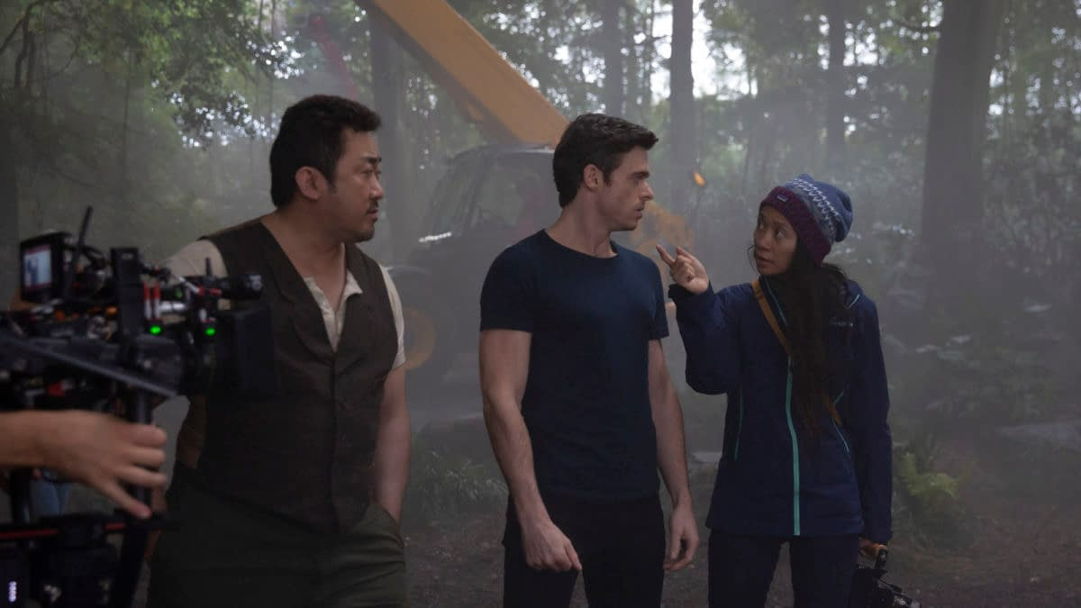 Eternals: Another New TV Spot, A New HQ Image, and a BTS Image