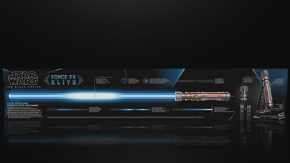 Leia Organa Gets Her Own Star Wars Force FX Lightsaber from Hasbro