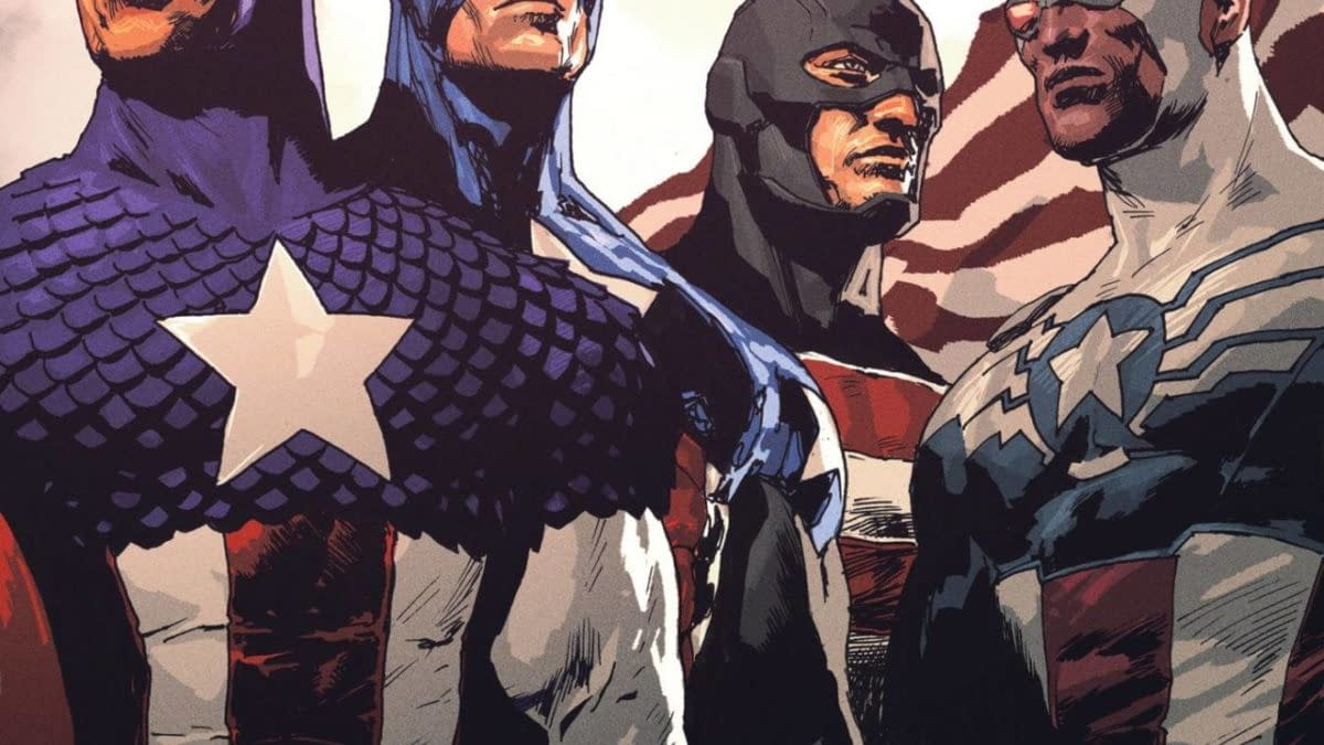 Cover image for UNITED STATES CAPTAIN AMERICA #5 (OF 5)