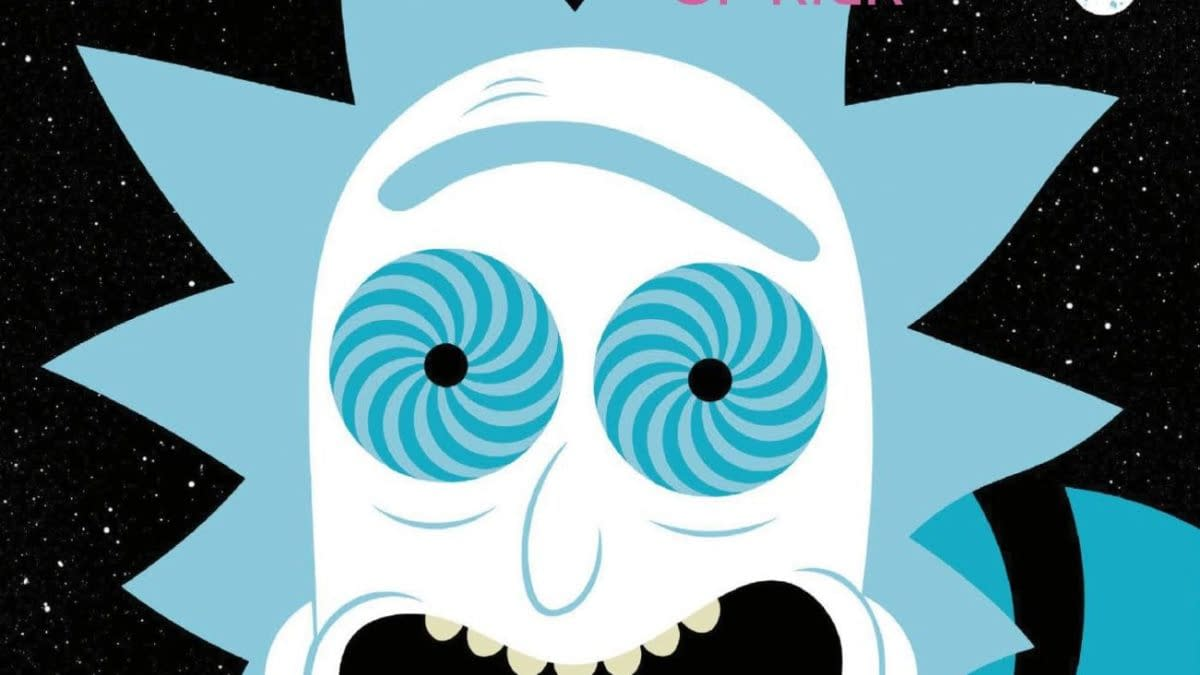 Cover image for RICK AND MORTY PRESENTS HERICKTICS OF RICK #1 CVR B PATRICIA