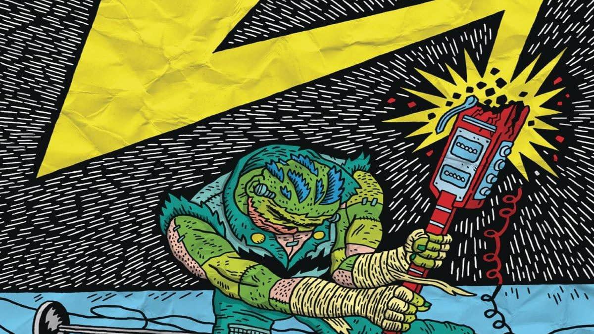 Cover image for FRANKENROCKER AND THE JAILBAIT PUNKS #1 (OF 4) CVR A KOWALCZ