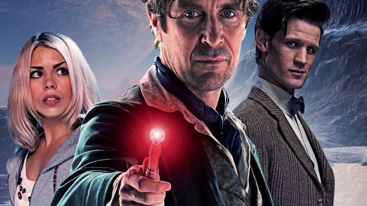 Cover image for DOCTOR WHO EMPIRE OF WOLF #3 CVR B PHOTO