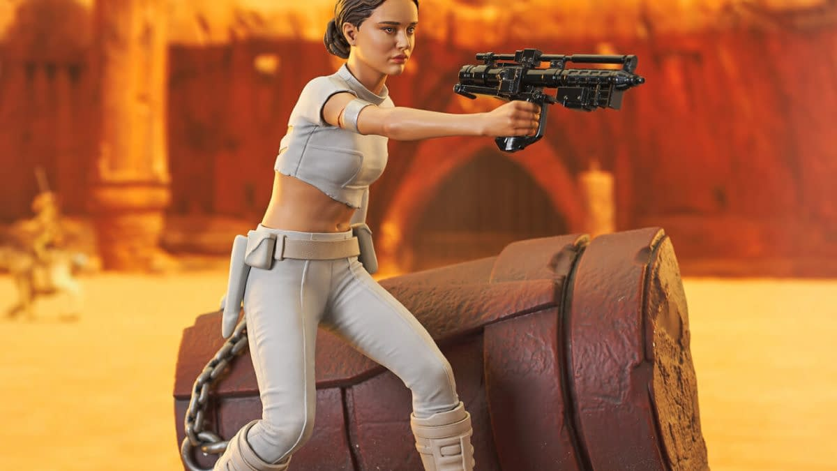 Padme Amidala Receives Limited Edition Star Wars Gentle Giant Statues