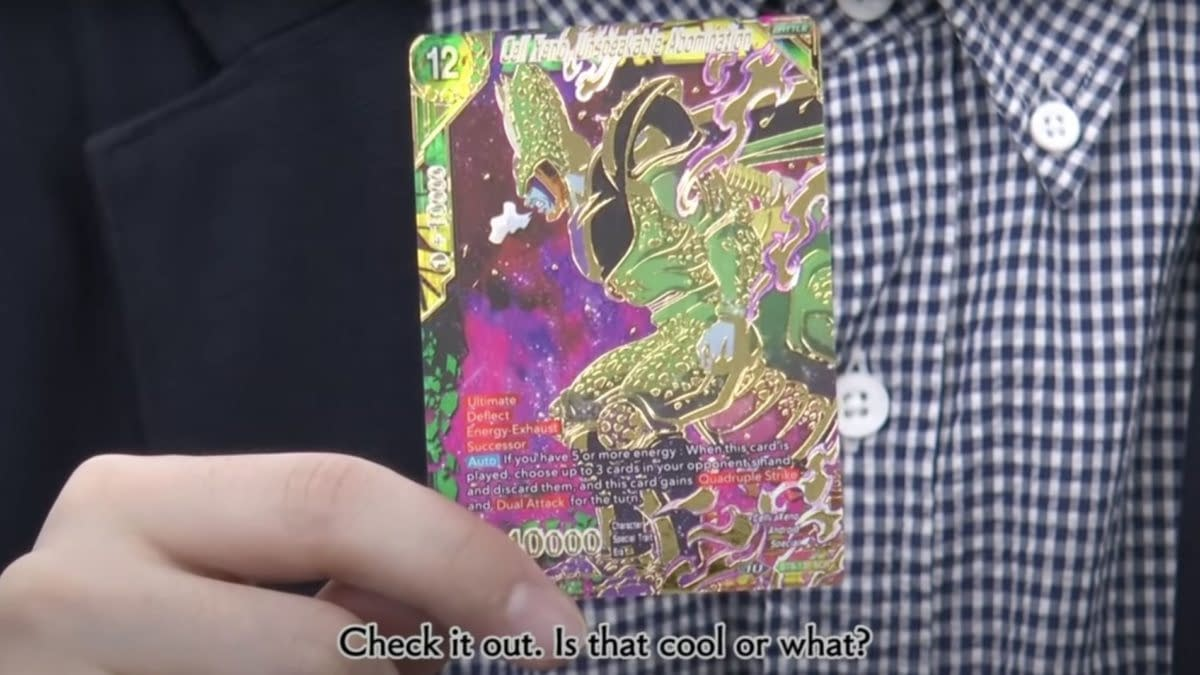 Dragon Ball Super Card Game Direct Reveals Mythic Booster Products
