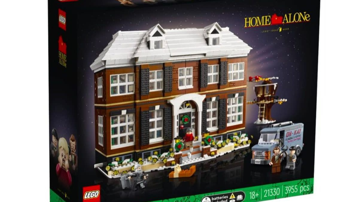 The Home Alone Christmas House Arrives from LEGO Ideas