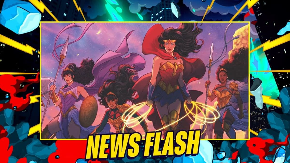 DC Comics Publishes Wonder Woman: Trial Of The Amazons For 2022