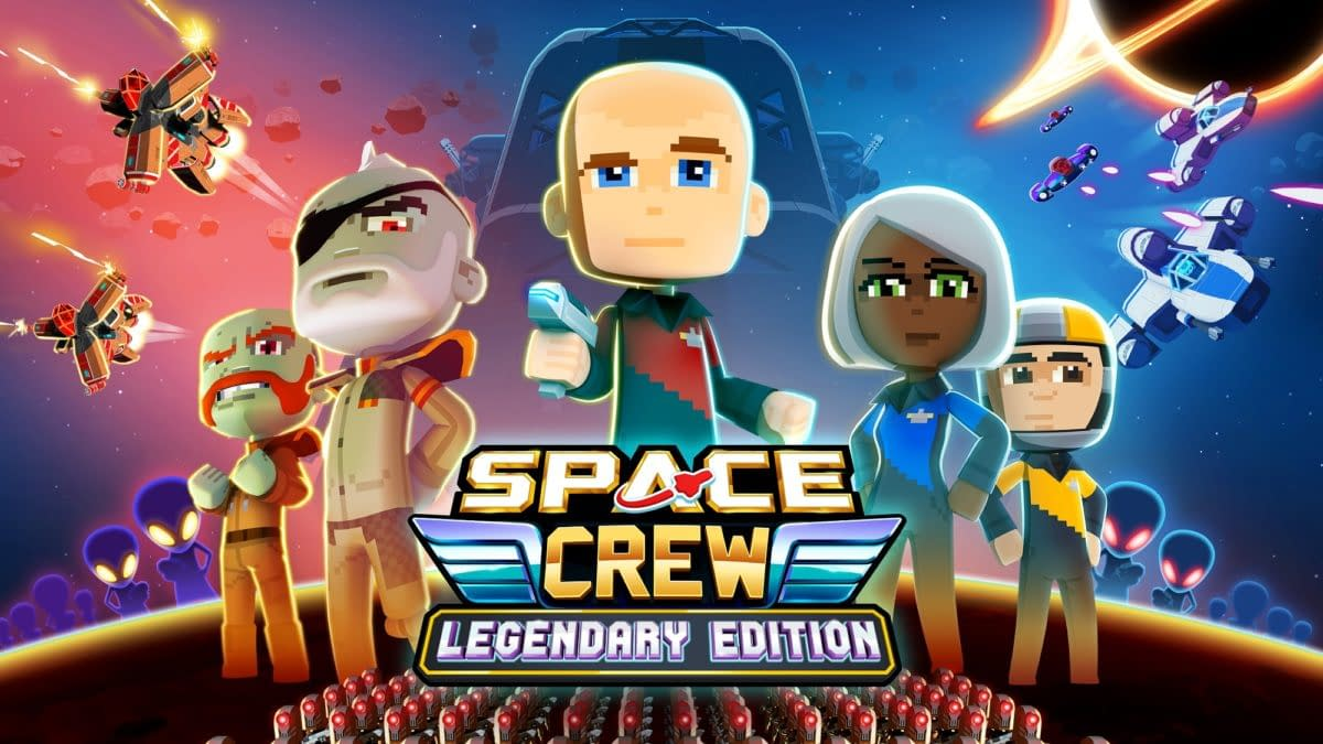 Space Crew: Legendary Edition Drops Onto PC & Consoles