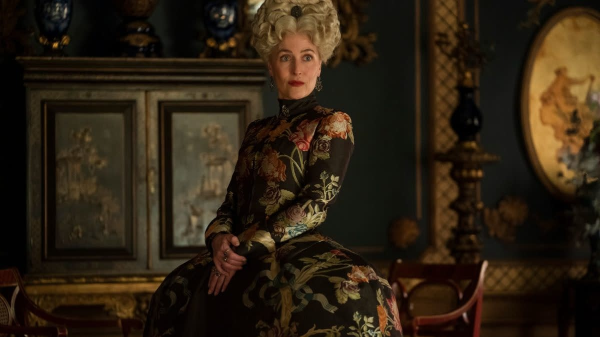 The Great: Gillian Anderson Gives A Peek At Hulu Series Character