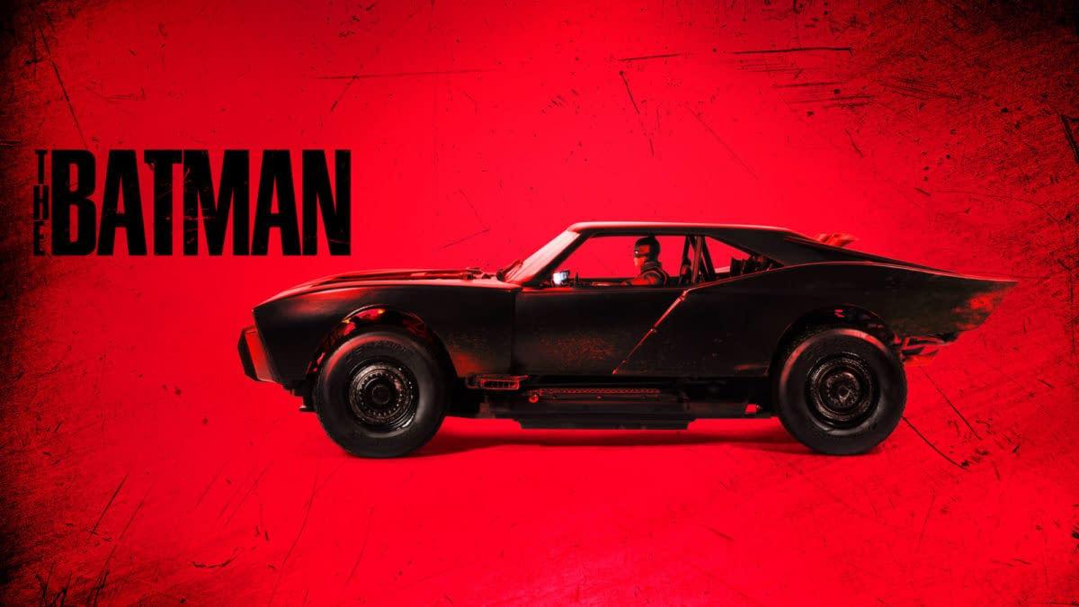 Mattel Creations Reveals $500 The Batman Batmobile Hot Wheel R/C