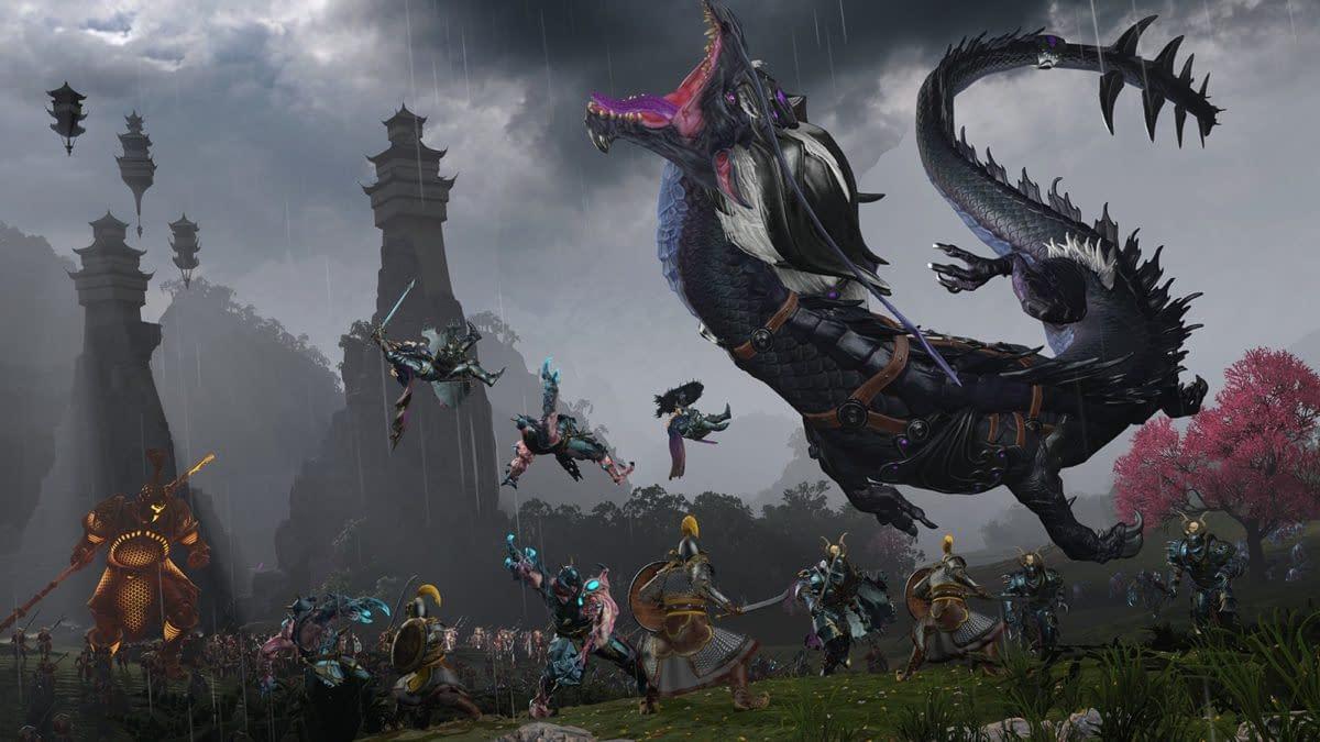 Total War: Warhammer III Highlights Grand Cathay Battle Gameplay
