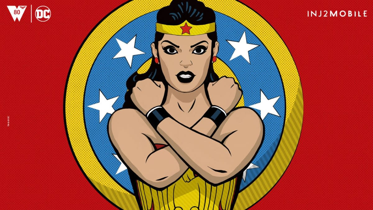 Classic Wonder Woman Added To Injustice 2 Mobile For 80th Anniversary