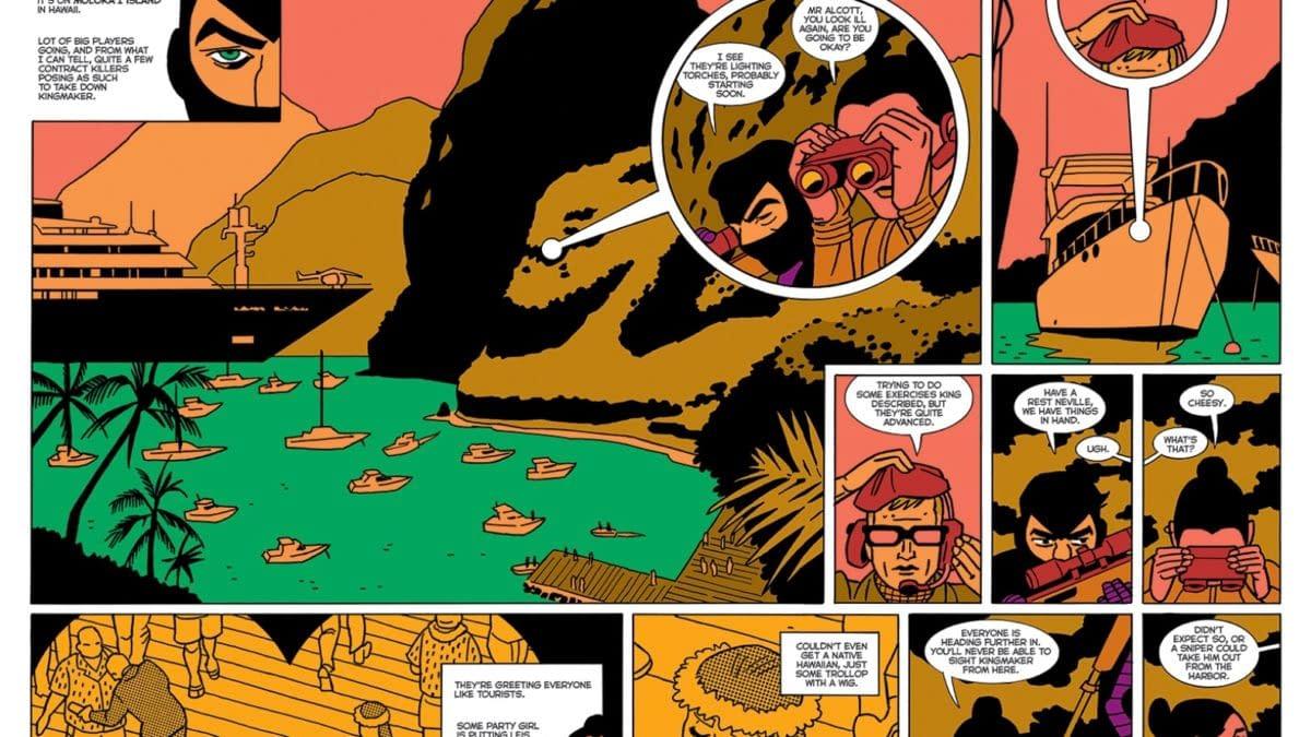 Javier Pulido's Work On Ninjak #4 Was Binned, Replaced By