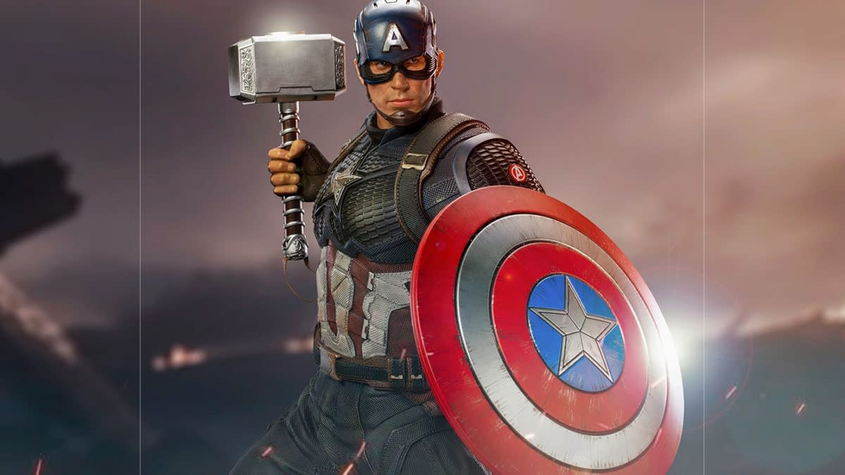 Captain America is Worthy Once Again with New Iron Studios Statue