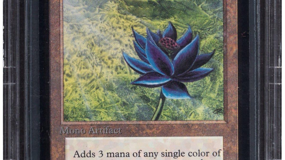 Magic: The Gathering Alpha Black Lotus Auctioning At Heritage