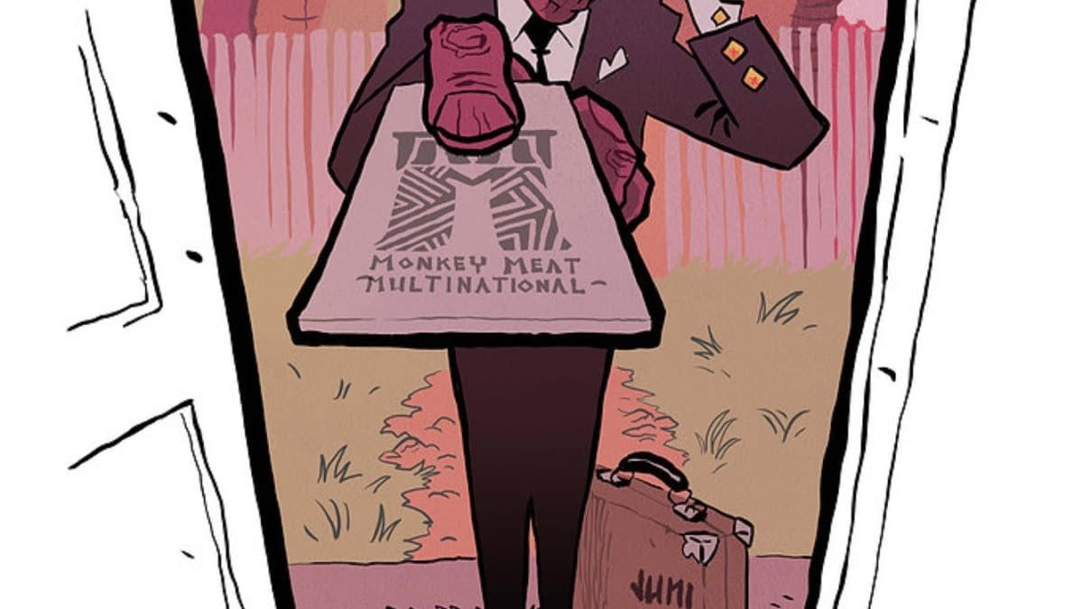 Juni Ba Launches His Monkey Meat At Image Comics In January 2022