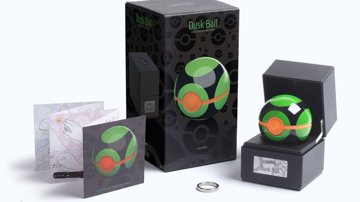 Catch Pokemon in Style with Dusk Ball Replica From The Wand Company