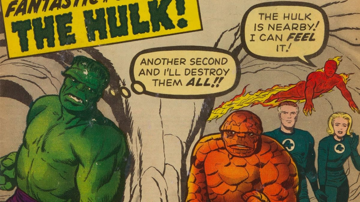 Fantastic Four #12 (Marvel, 1963)