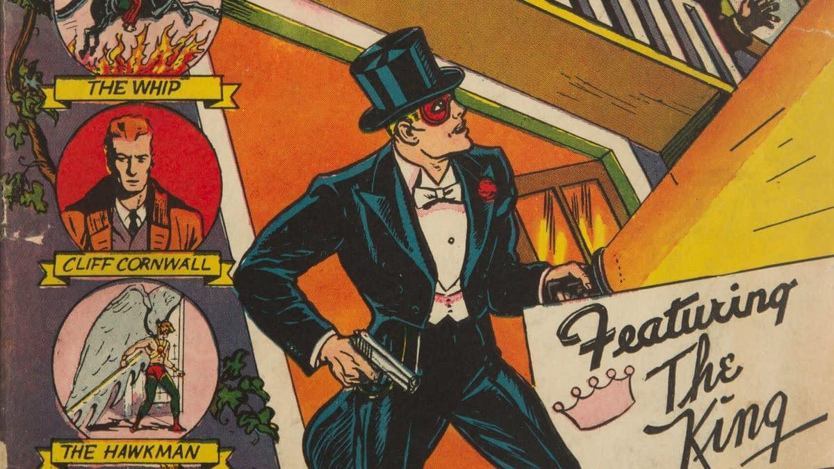 Flash Comics #5, DC Comics 1940.