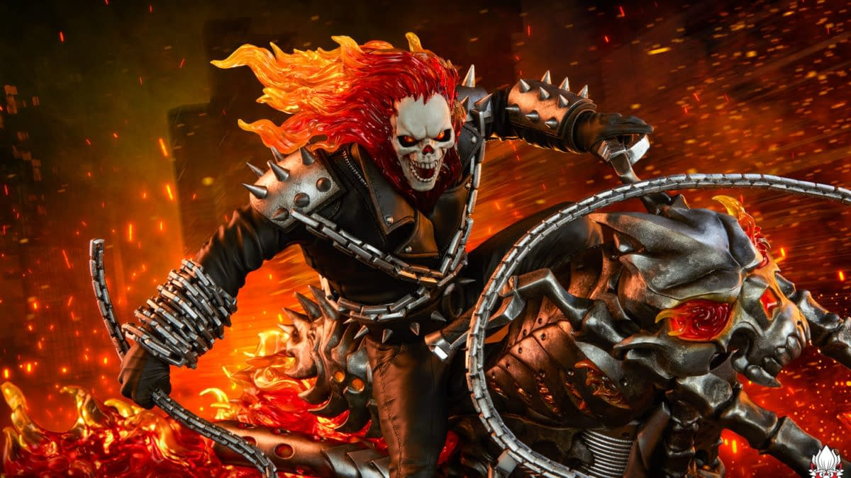 Ghost Rider Brings Fire to the Streets with PCS Collectibles