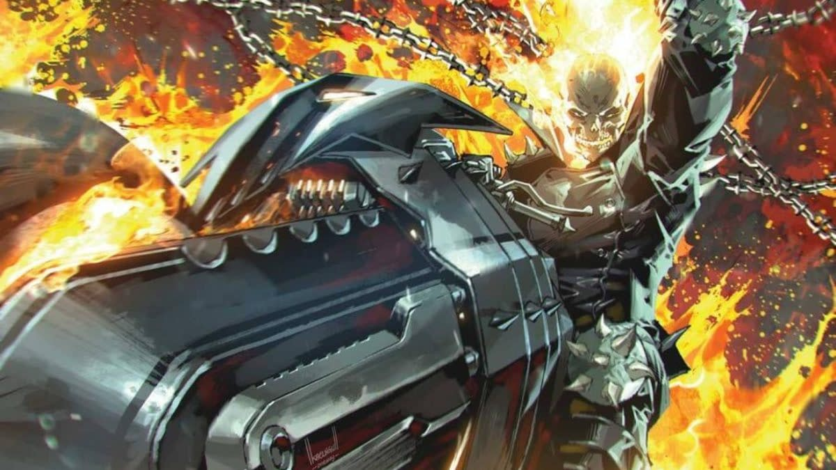 Benjamin Percy & Cory Smith Launch New Ghost Rider Series in 2022
