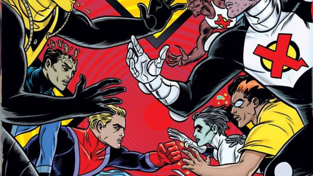 Evil Dada Shock Troopers Fighting The Culture War – The X-Cellent #1