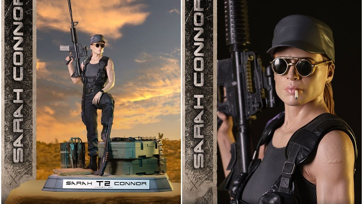 Darkside Collectibles Celebrates 30 Years of Terminator 2 with New Statue