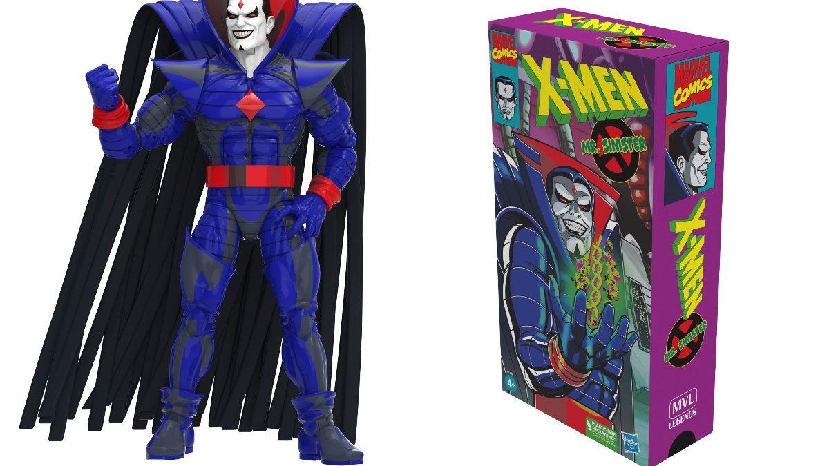 Hasbro Unveils X-Men Animated Mr.Sinister Marvel Legends Figure