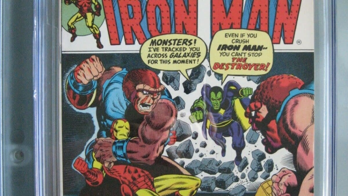 Iron Man #55 Gets An New Aftermarket Sales Bump