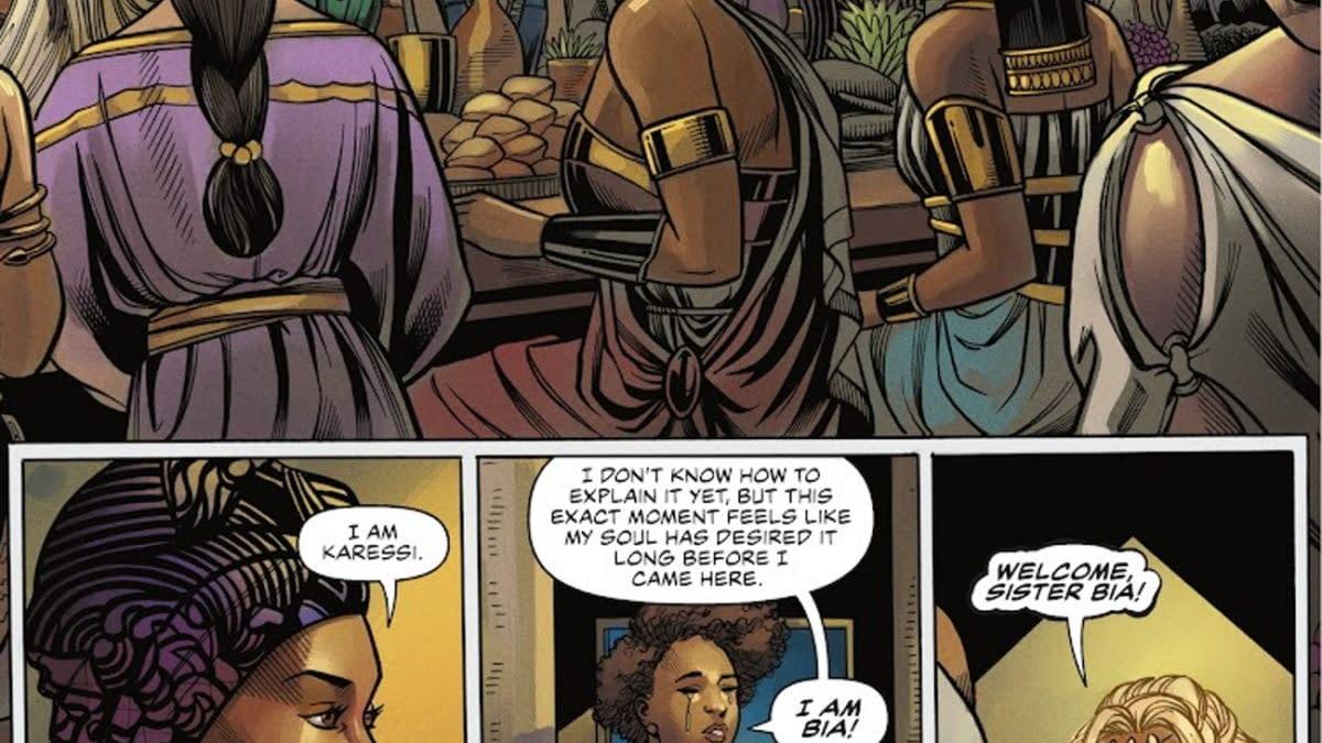 DC Comics Introduce Trans Women To Wonder Woman's Paradise Island