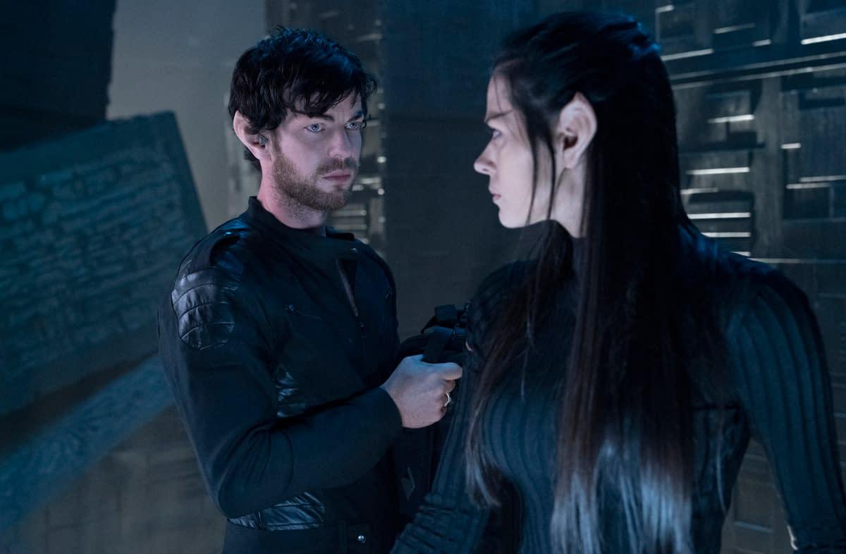 Star Trek: Picard - Harry Treadaway and Peyton List as Narek and Narissa