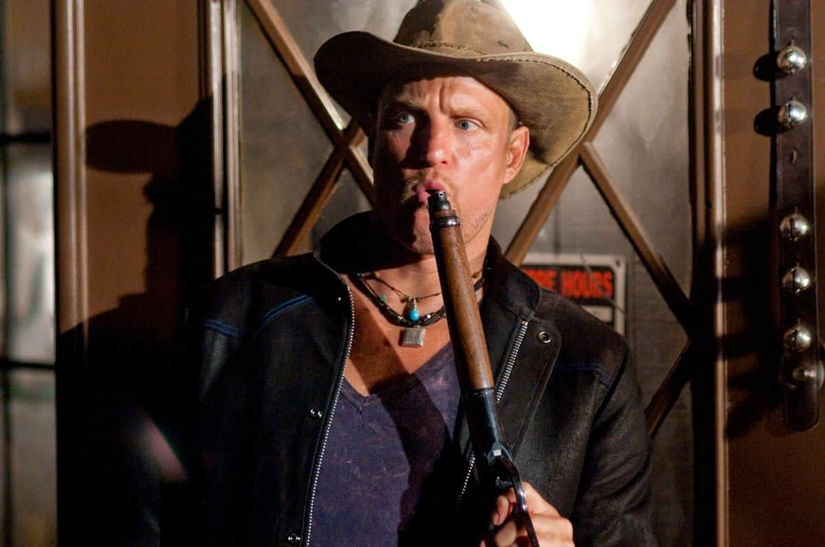 Woody Harrelson is Having a Ball Shooting Zombieland: Double Tap