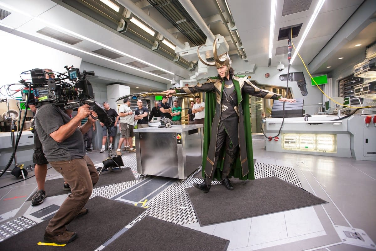 5 Never-Before-Seen Photos from Phase 1 of the Marvel Cinematic Universe