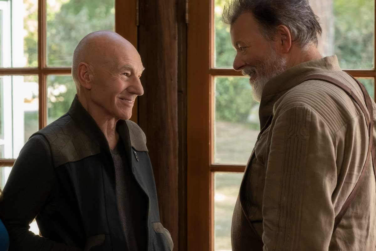 """Star Trek: Picard"" – Jonathan Del Arco's Hugh Looks Nearly Heavy Metal-Free [PREVIEW]"