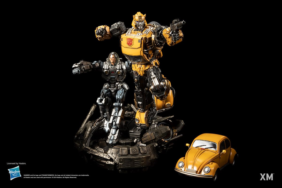 Bumblebee Is Ready for Action in the New XM Studios Statue