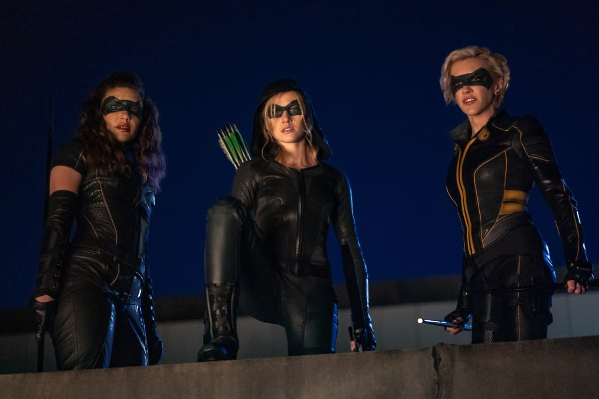 Green Arrow And The Canaries Cw Releases Spinoff Episode Images