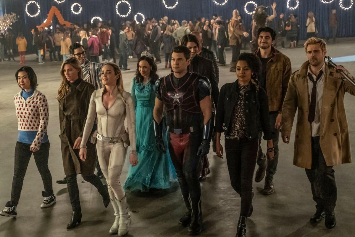 """DC's Legends of Tomorrow"" Season 5 Director Marc Guggenheim Shares BTS Images"