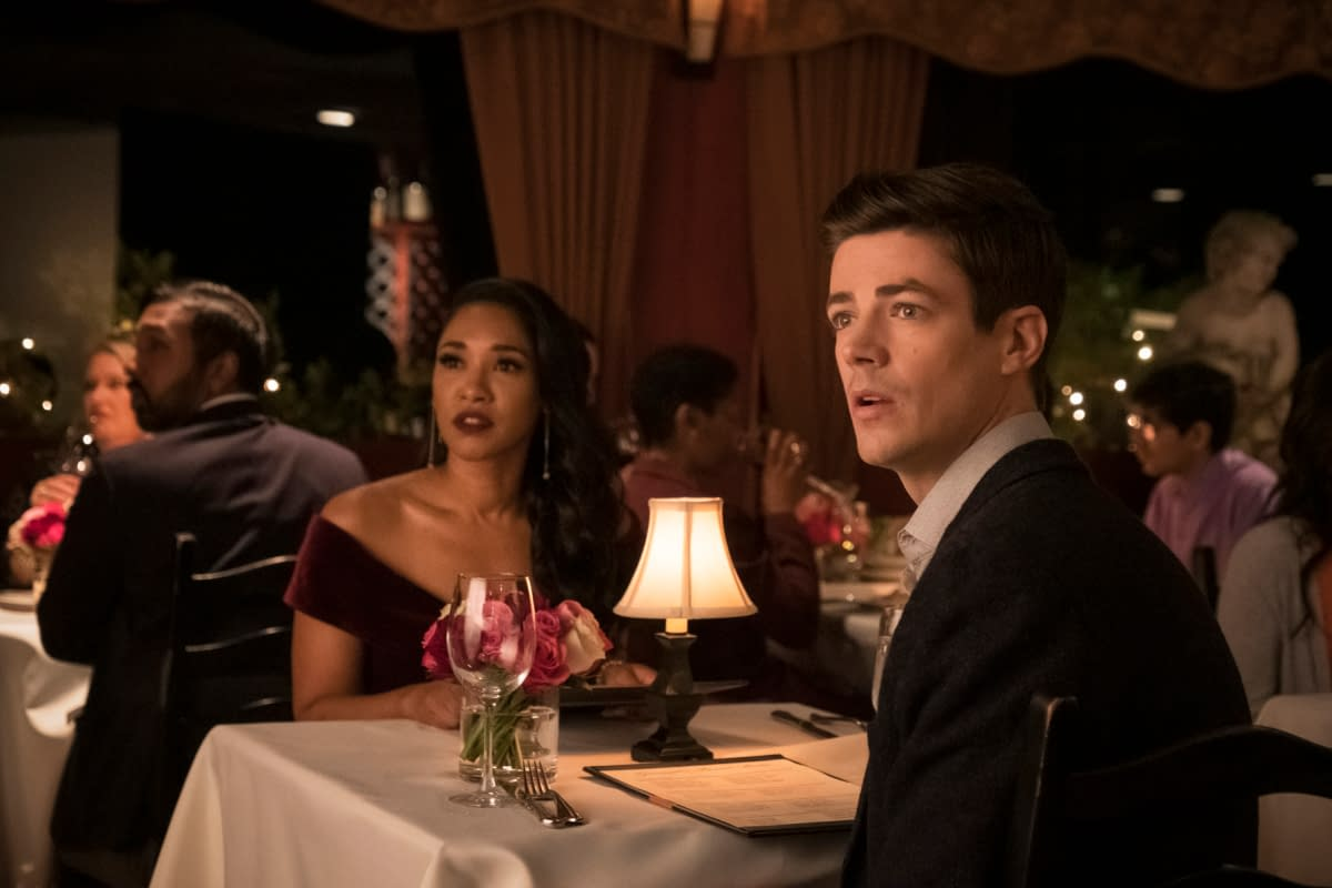 """The Flash"" Season 6 ""Love Is A Battlefield"": A Tale of Two Iris [SCENE]"