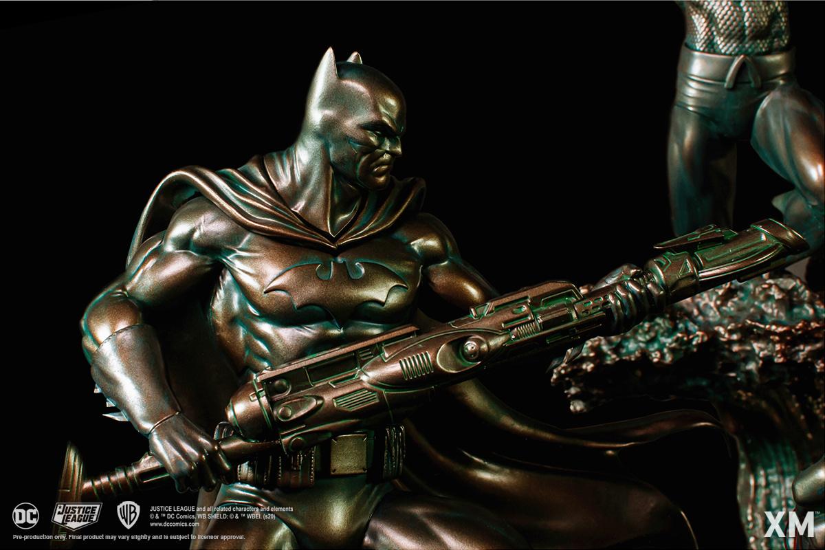 Justice League vs Darkseid Battle Diorama Statues from XM Studios